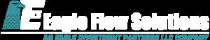 Eagle Flow Solutions Logo - White