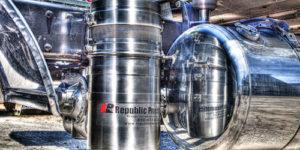 Photo of Republic Pneumatics installation